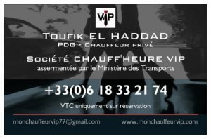 VTC Mon Chauffeur VIP l'alternative au taxi